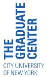 CUNY Grad Center logo
