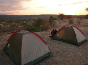 1 tents and landscape