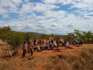 2014 fieldschool excavating