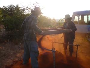 John & Sarah sieving