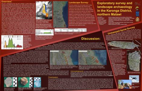 Poster for the Paleoanthropology Society Meeting